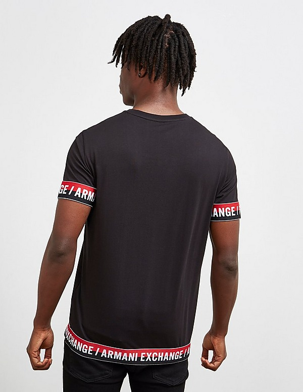 Armani Exchange Tape Cuff Short Sleeve T-Shirt