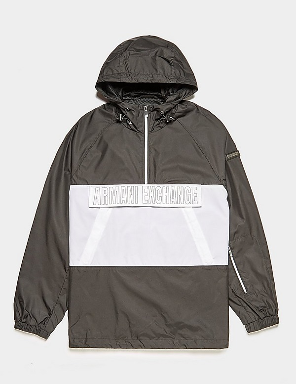 Armani Exchange Pouch Pocket Over Head Jacket