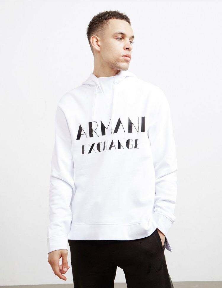 Armani Exchange Italic Logo Overhead Hoodie