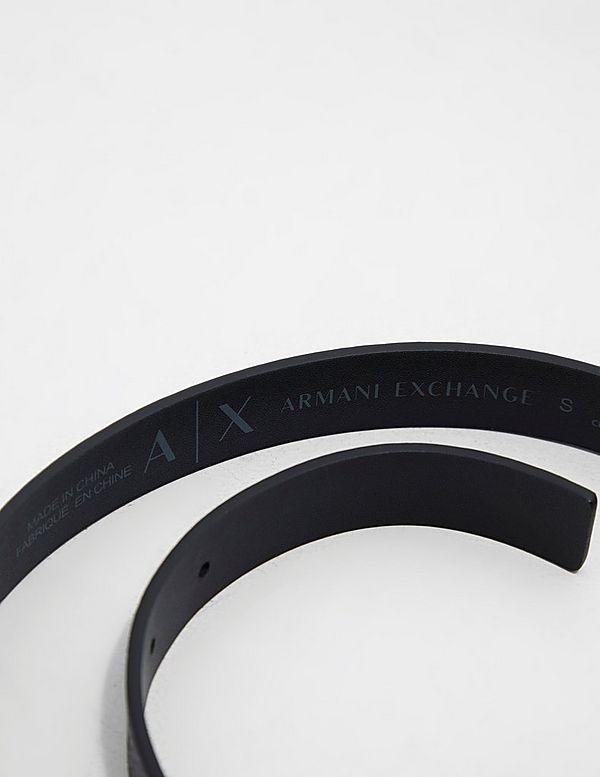 Armani Exchange Logo Belt