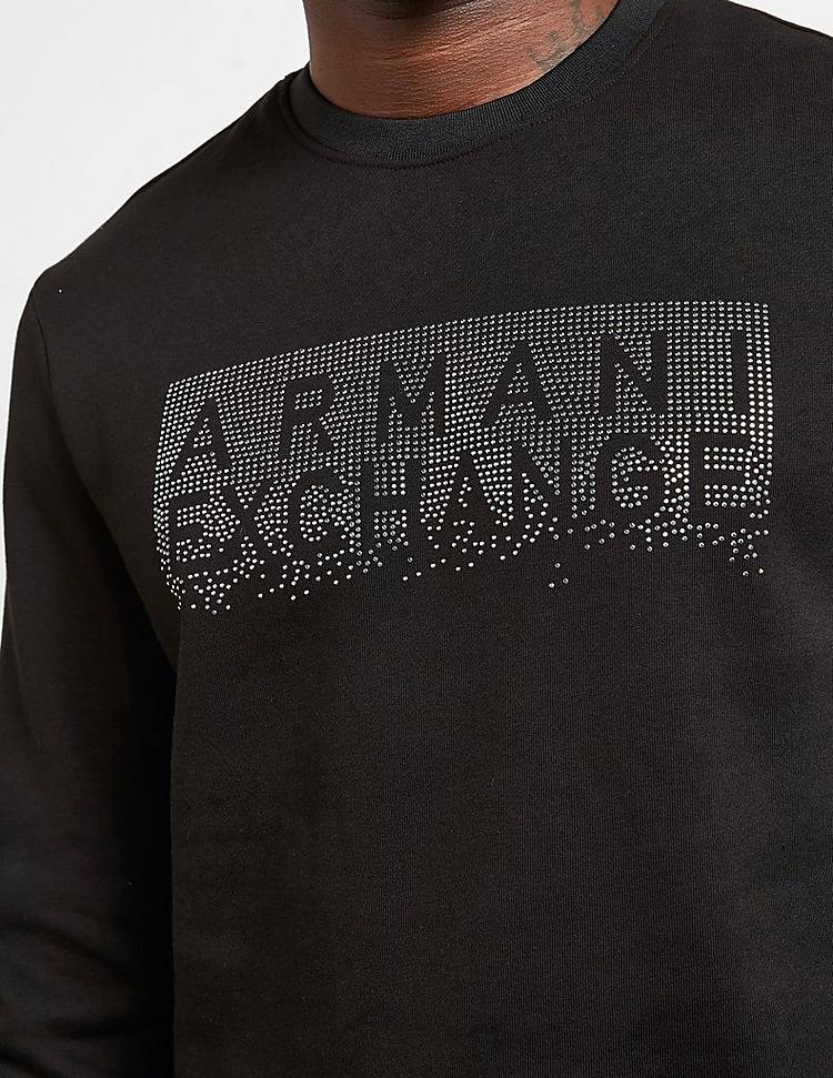 Armani Exchange Diamante Logo Sweatshirt