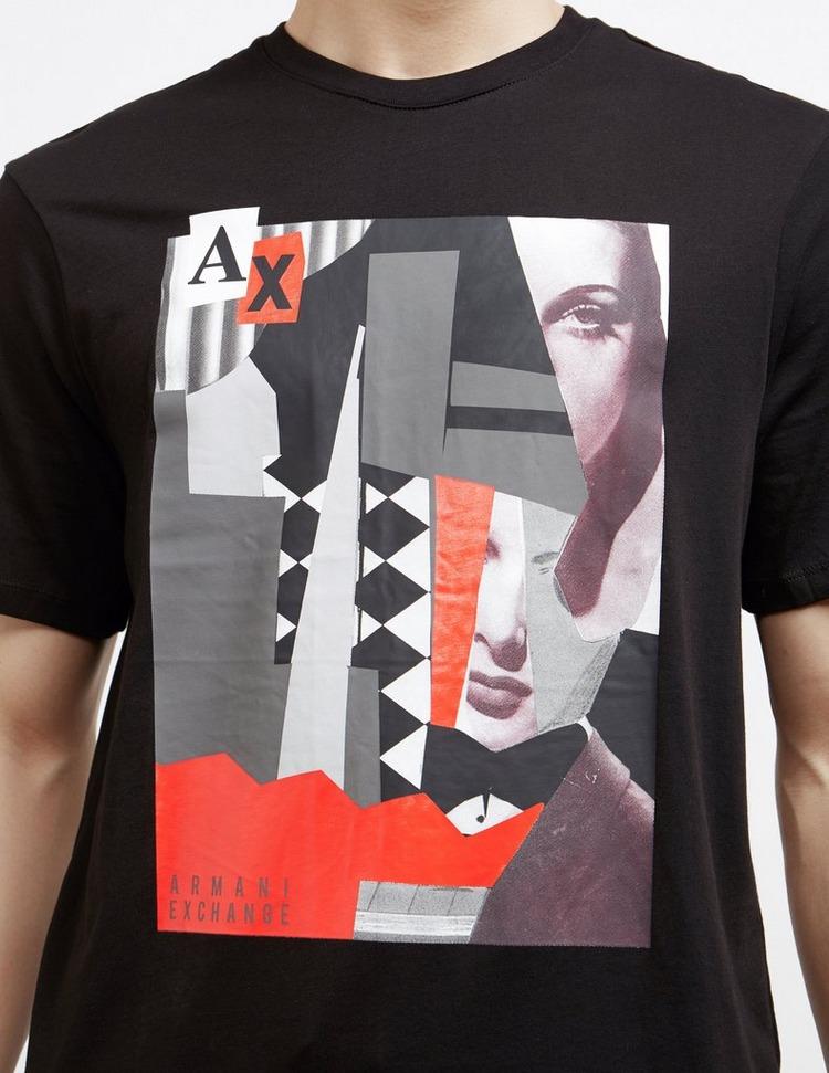 Armani Exchange Mix Graphic Short Sleeve T-Shirt