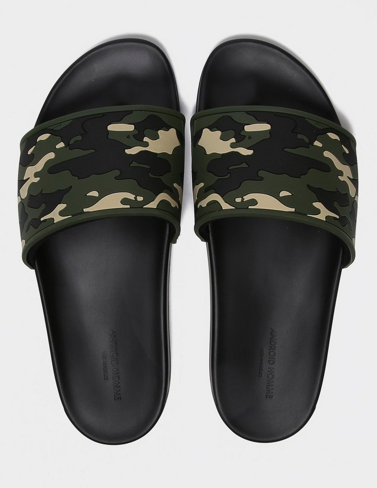 Android Homme Camouflage Slides