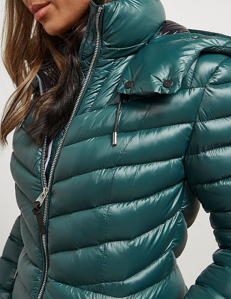 Mackage Lara Long Quilted Down Jacket