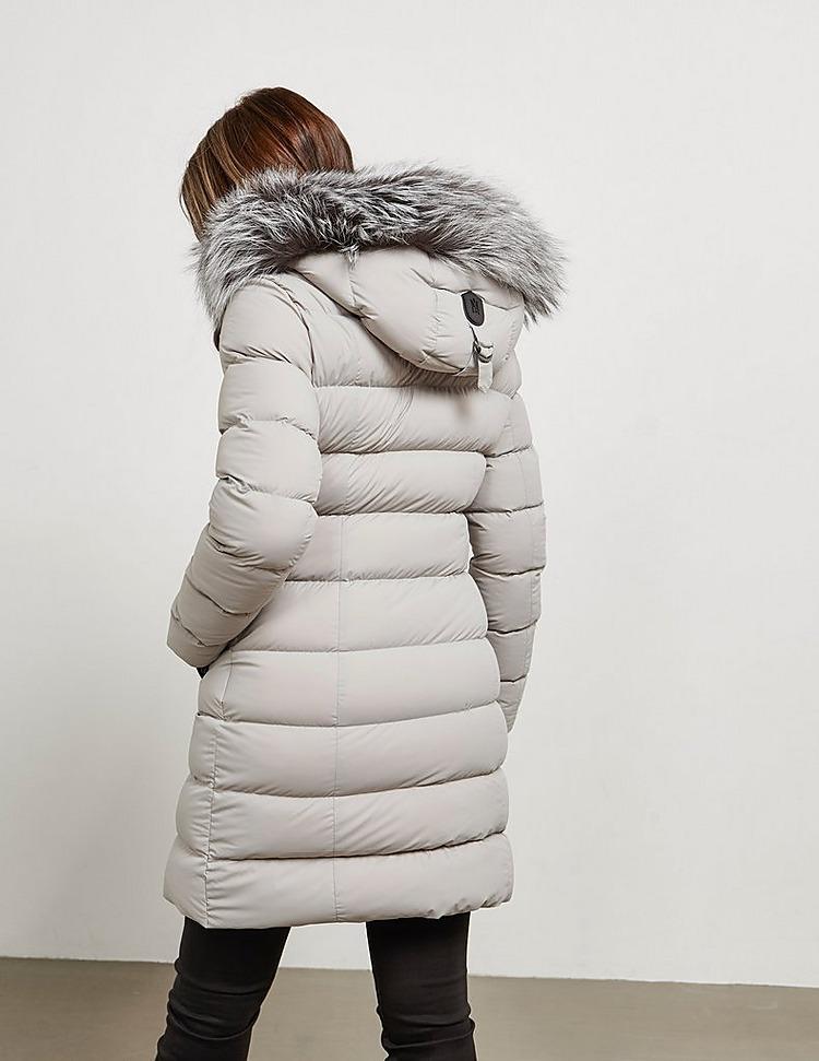 Mackage Calla Long Down Padded Fur Jacket
