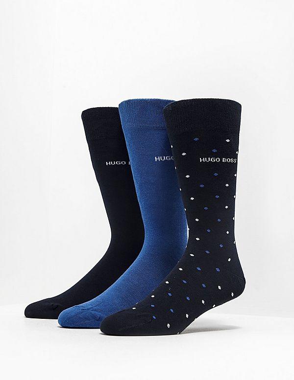 BOSS 3-Pack Gift Socks