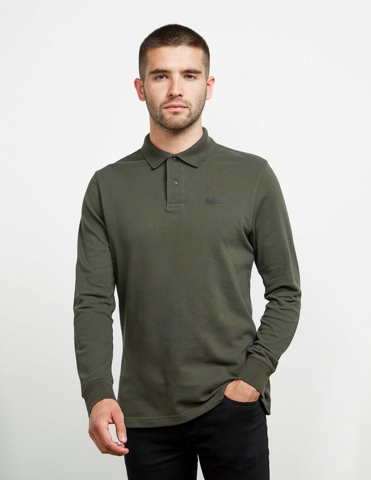Barbour International Essential Long Sleeve Polo Shirt