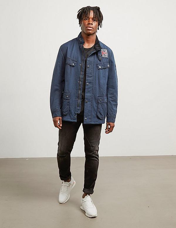 Barbour International Steve McQueen Lester Wax Jacket