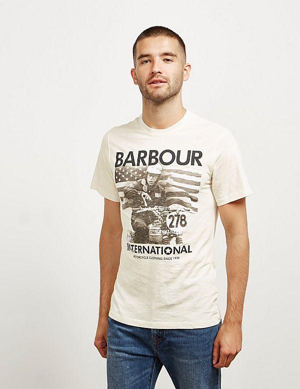 Barbour International Steve McQueen 278 Time Short Sleeve T-Shirt