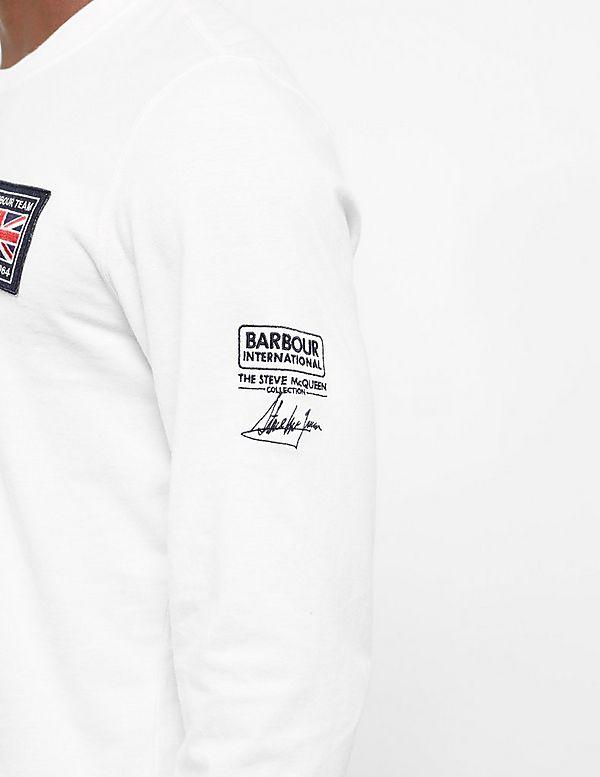 Barbour International Steve MCQueen Team Long Sleeve T-Shirt