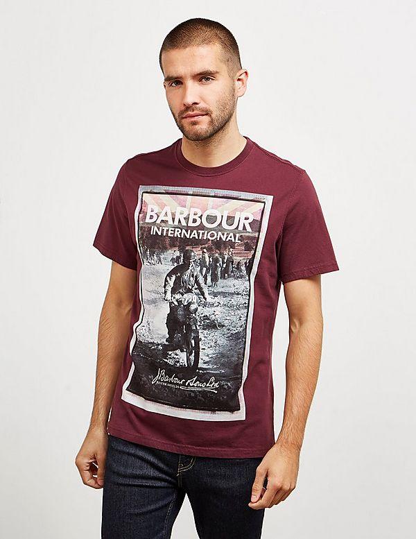 Barbour International Arch Bike Short Sleeve T-Shirt