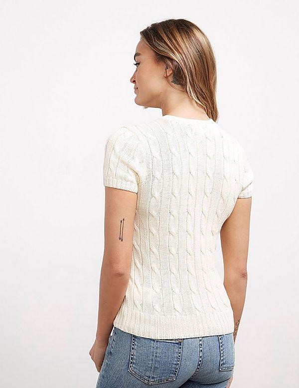 Polo Ralph Lauren Pocket Heart Knit Short Sleeve Jumper