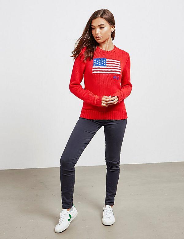 Polo Ralph Lauren Flag Knit Jumper