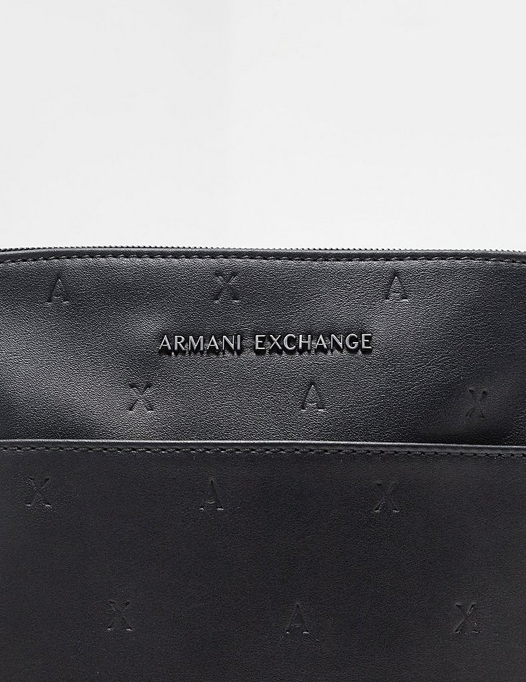 Armani Exchange Stamp Logo Cross Body Bag