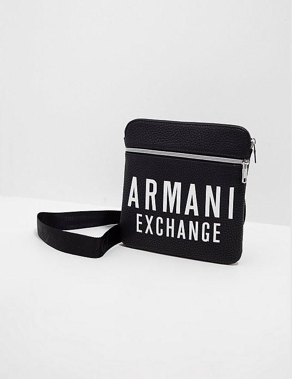 Armani Exchange Large Logo Small Item Bag
