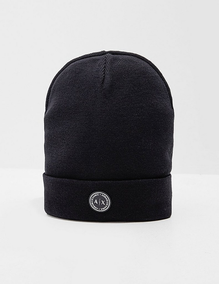 Armani Exchange Circle Logo Beanie