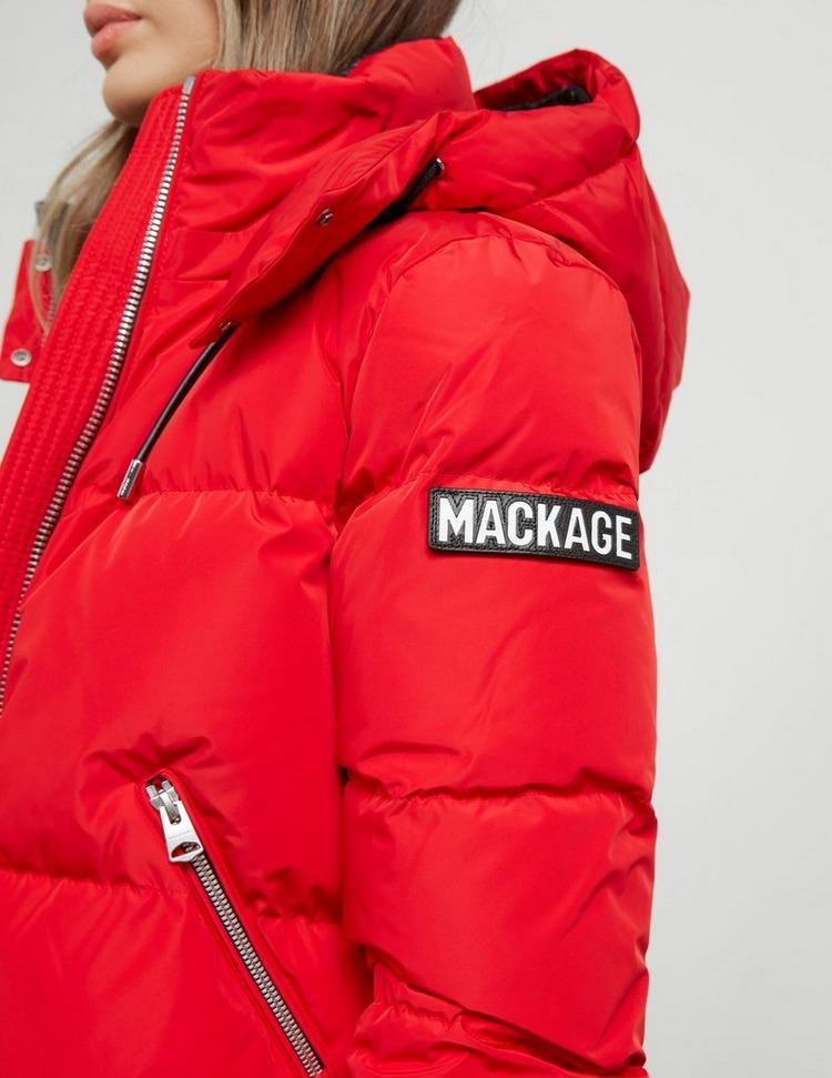 Mackage Aubrie Padded Logo Bomber