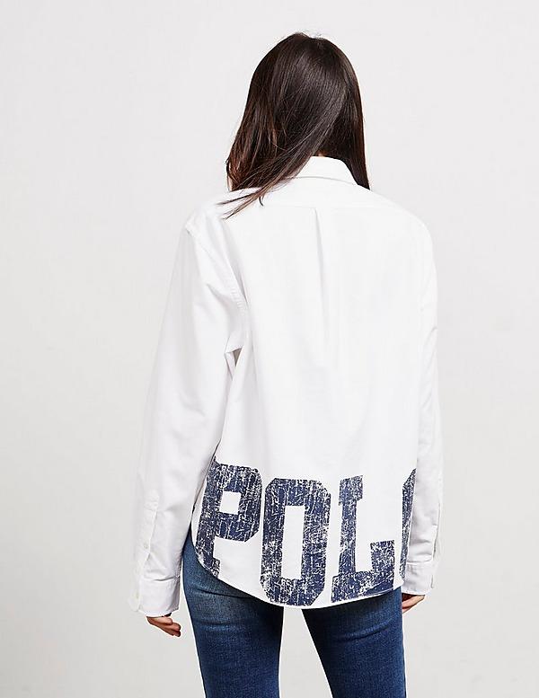 Polo Ralph Lauren Crepe Long Sleeve Shirt