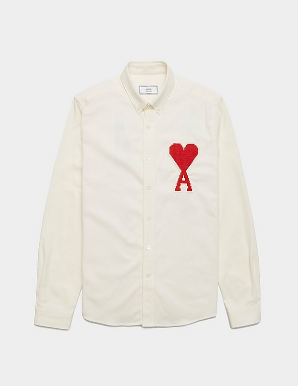 AMI Paris Jacquard Long Sleeve Shirt