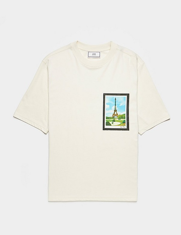 AMI Paris Postcard Short Sleeve T-Shirt