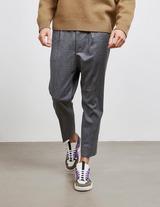 AMI Paris Wool Carrot Trousers