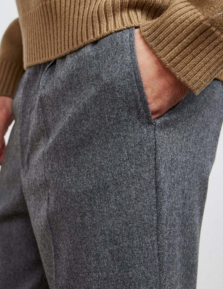 AMI Paris Wool Carrot Trousers