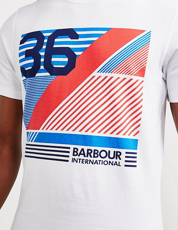 Barbour International Line Short Sleeve T-Shirt