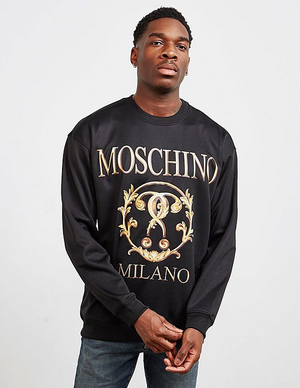 Moschino Gold Print Sweatshirt