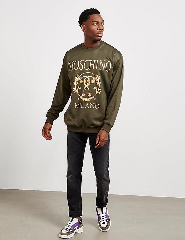 Moschino Gold Print Sweatshirt