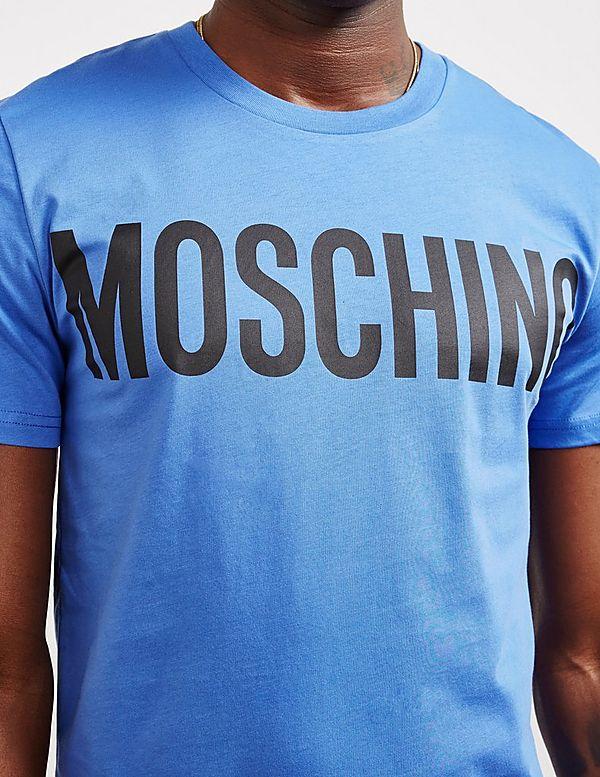Moschino Classic Logo Short Sleeve T-Shirt