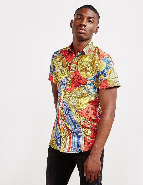 Moschino Print Short Sleeve Shirt