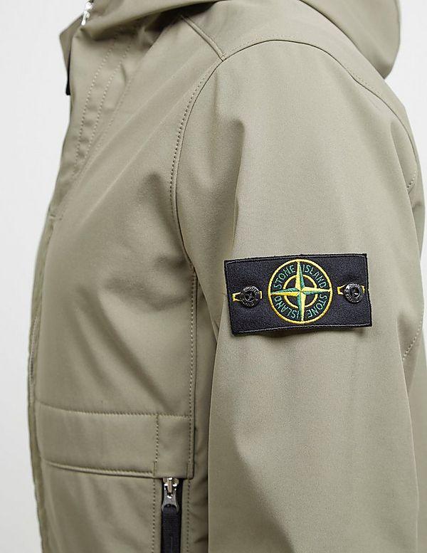 Stone Island Softshell Hooded Lightweight Jacket