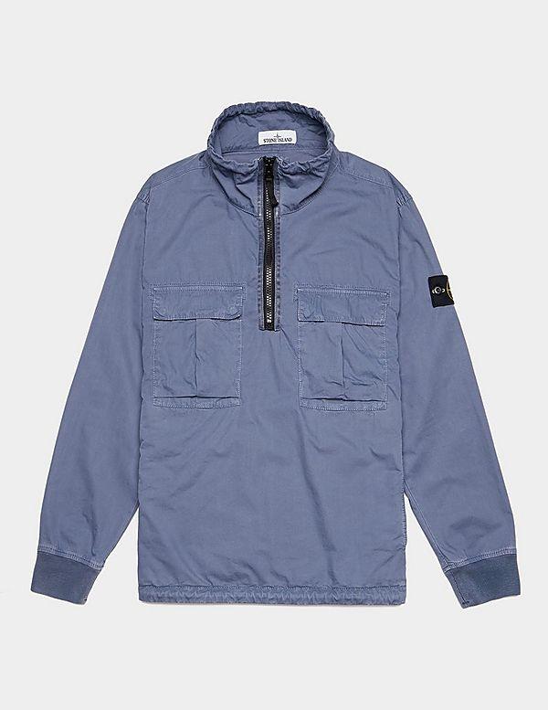 Stone Island Garment Dyed Anorak Jacket