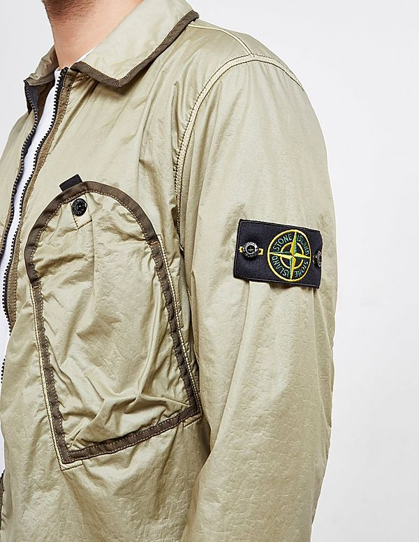 Stone Island Pocket Long Sleeve Shirt