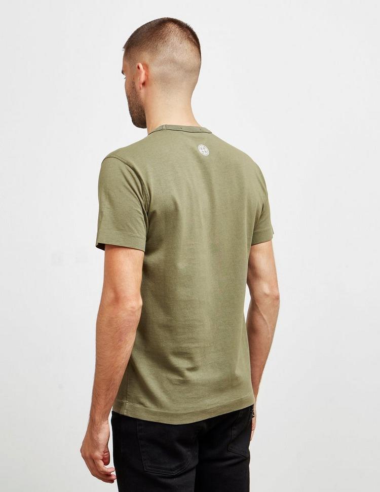 Stone Island Reflective Pin Short Sleeve T-Shirt