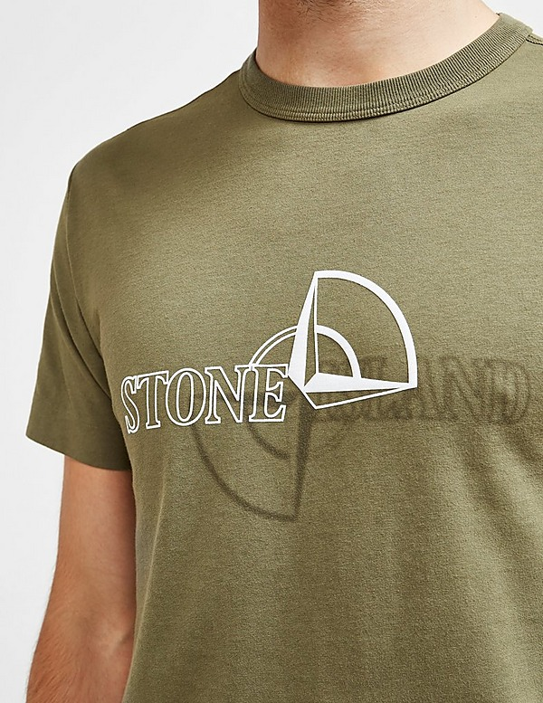 Stone Island Reflective Pin Short Sleeve T-Shirt