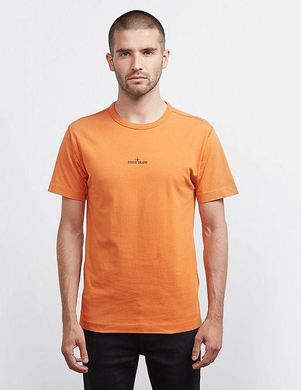 Stone Island Large Back Pin Short Sleeve T-Shirt