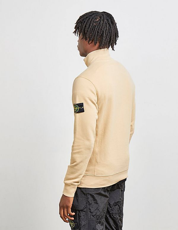 Stone Island Quarter Zip Sweatshirt