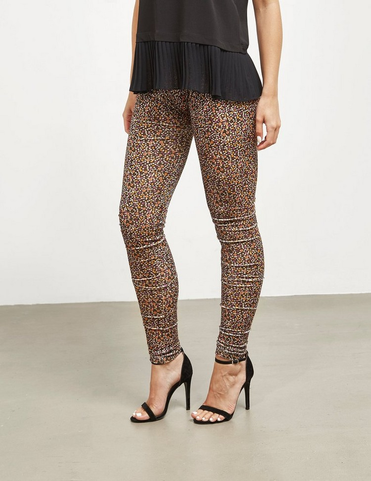 Vivienne Westwood Anglomania Jersey Floral Leggings