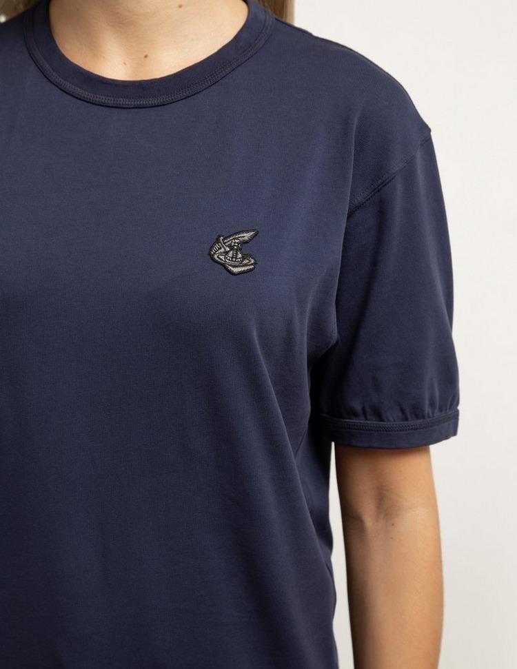 Vivienne Westwood Anglomania Badge Short Sleeve T-Shirt