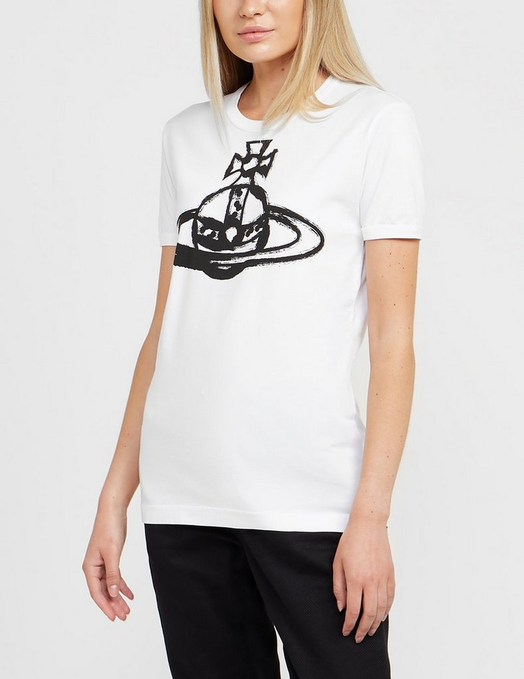 Vivienne Westwood Anglomania Orb Short Sleeve T-Shirt