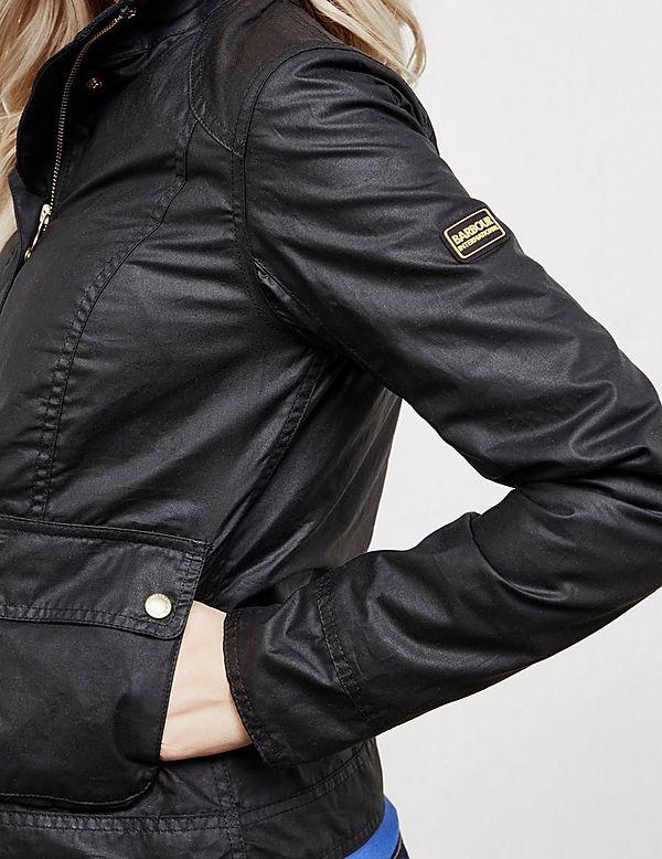 Barbour International Livingo Wax Jacket