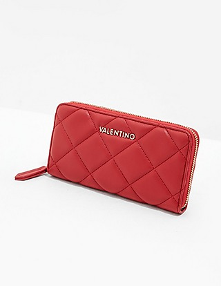 Valentino by Mario Valentino Ocarina Zip Around Purse