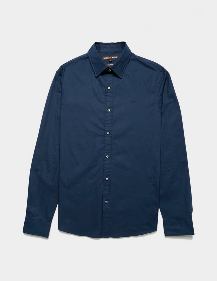 Michael Kors Slim Fit Stretch Long Sleeve Shirt