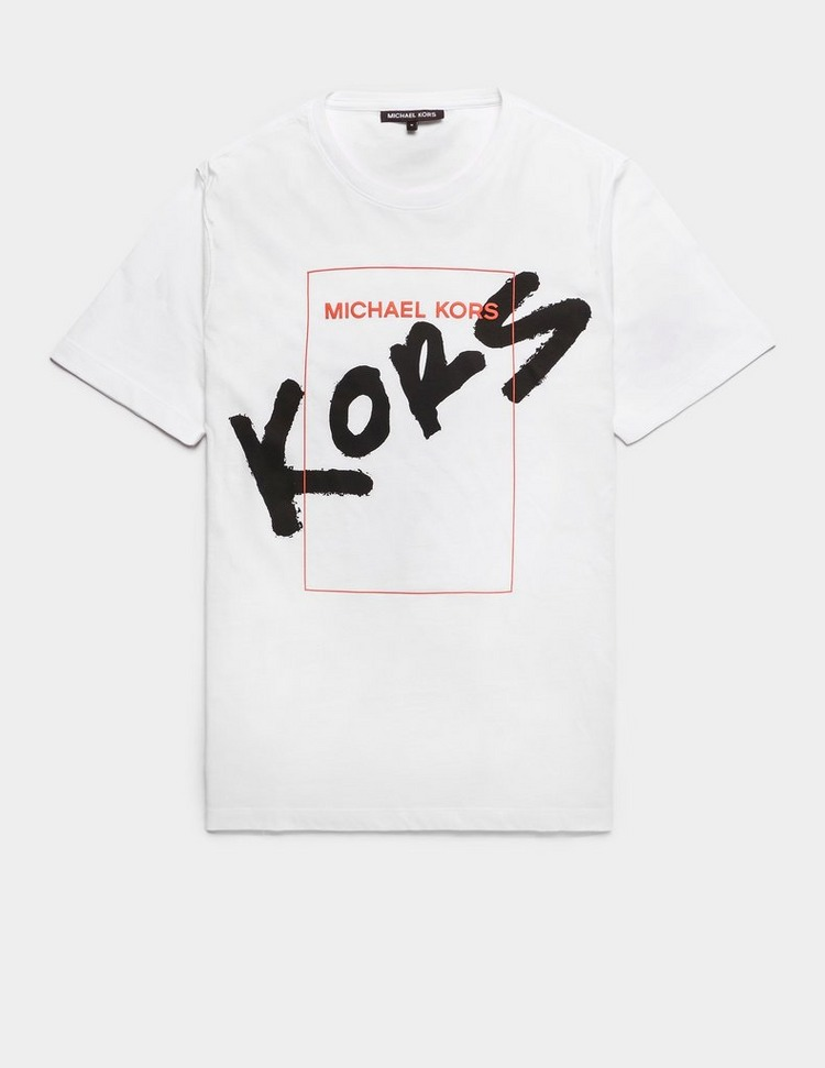 Michael Kors Sprayed Kors Short Sleeve T-Shirt
