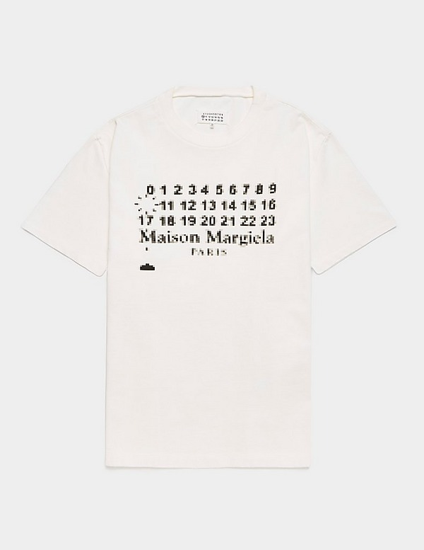 Maison Margiela Heavy Logo Short Sleeve T-Shirt