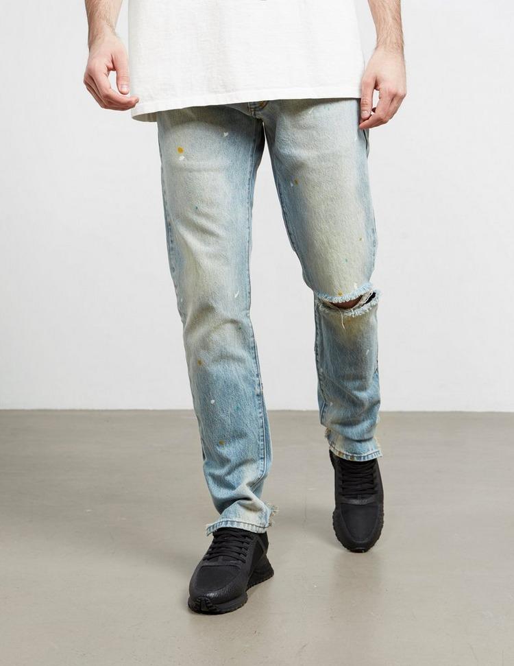 RHUDE Destroyed Jeans