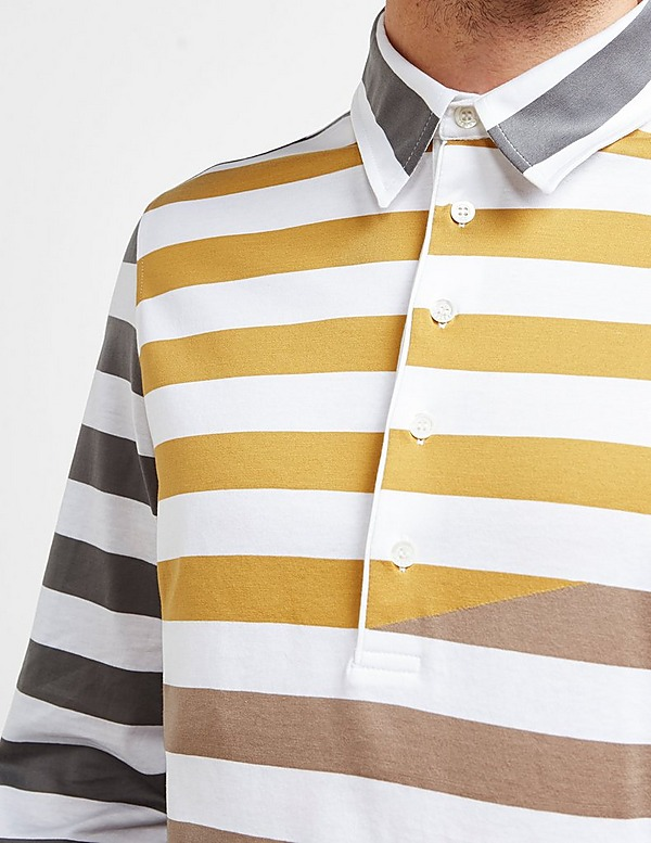 Missoni Broken Stripe Short Sleeve Polo Shirt