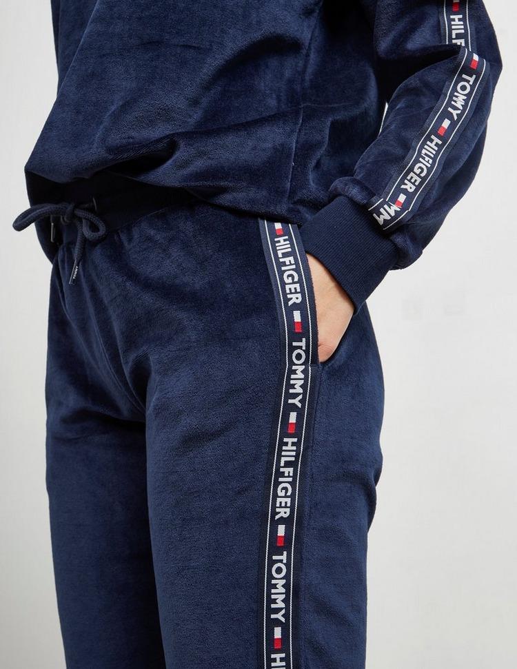 Tommy Hilfiger Underwear Logo Tape Velour Joggers