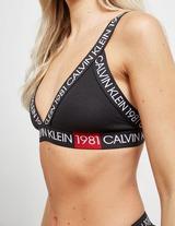 Calvin Klein Repeat Logo Triangle Bra